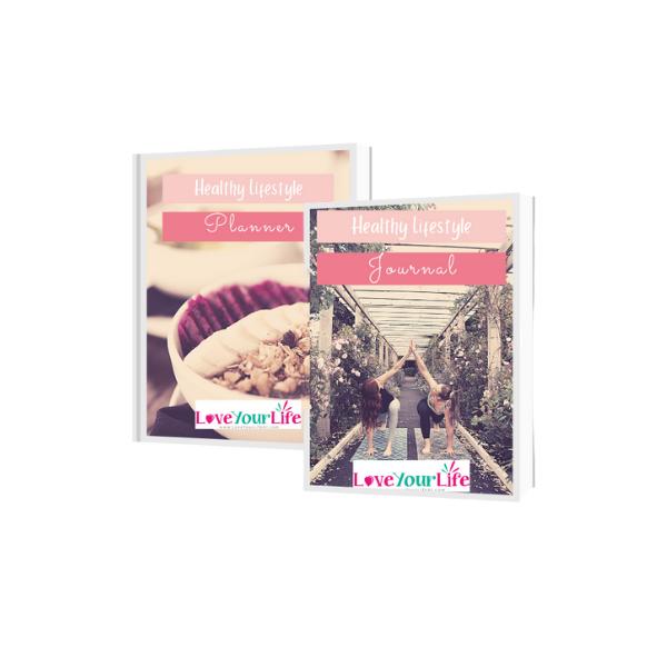 Healthy Lifestyle Planner & Journal Bundle